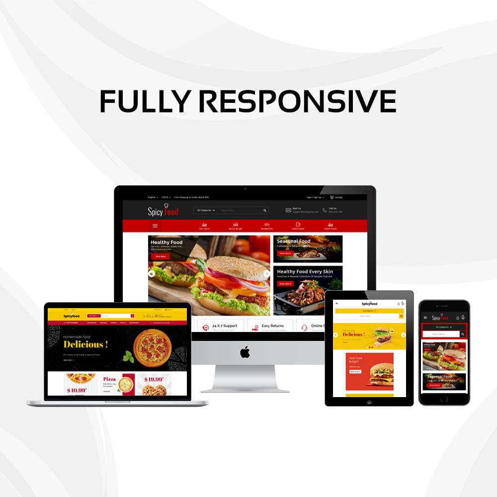 theme - Alimentation & Restauration - Spicy Food - Le magasin d'alimentation Mega - 2