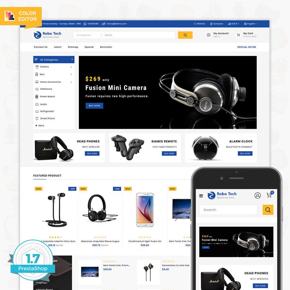 theme - Elettronica & High Tech - RoboTech - Mega Electronics Store - 3