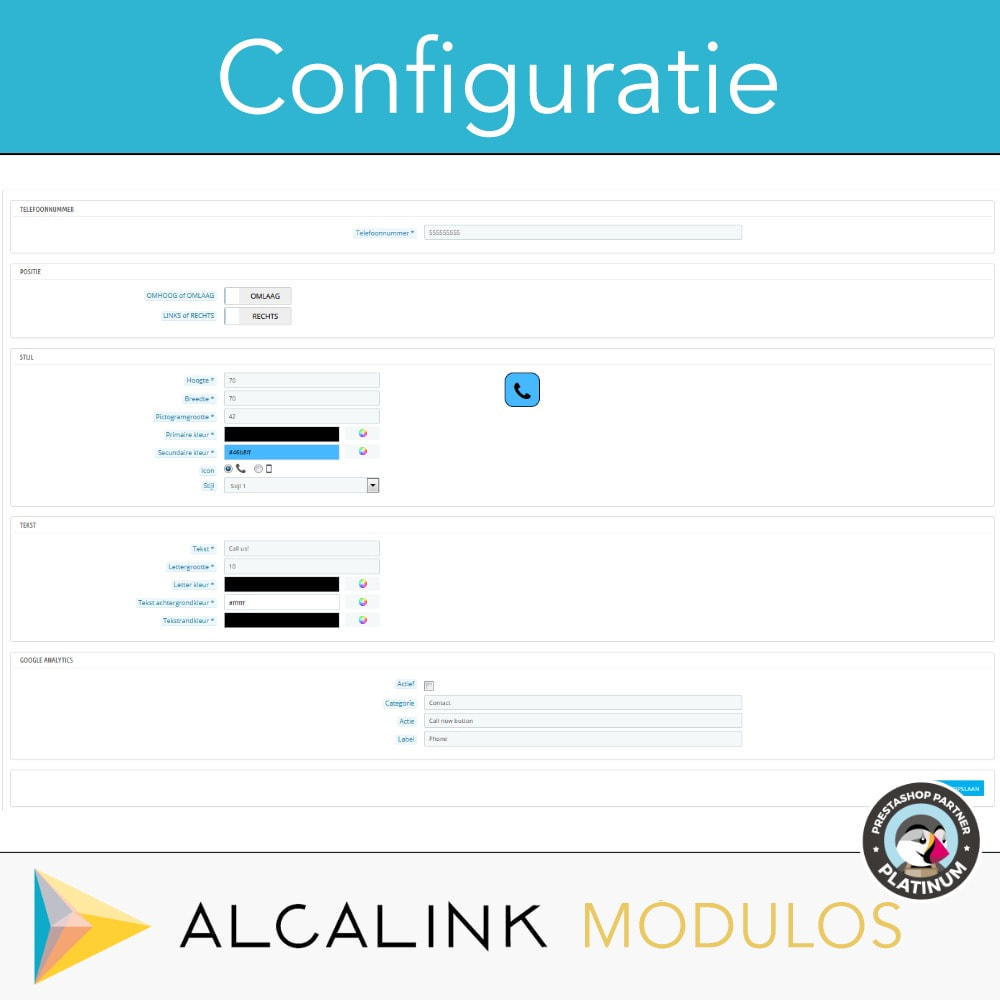 module - Mobiele apparaten - Contactknop per oproep (mobiele versie) - 3