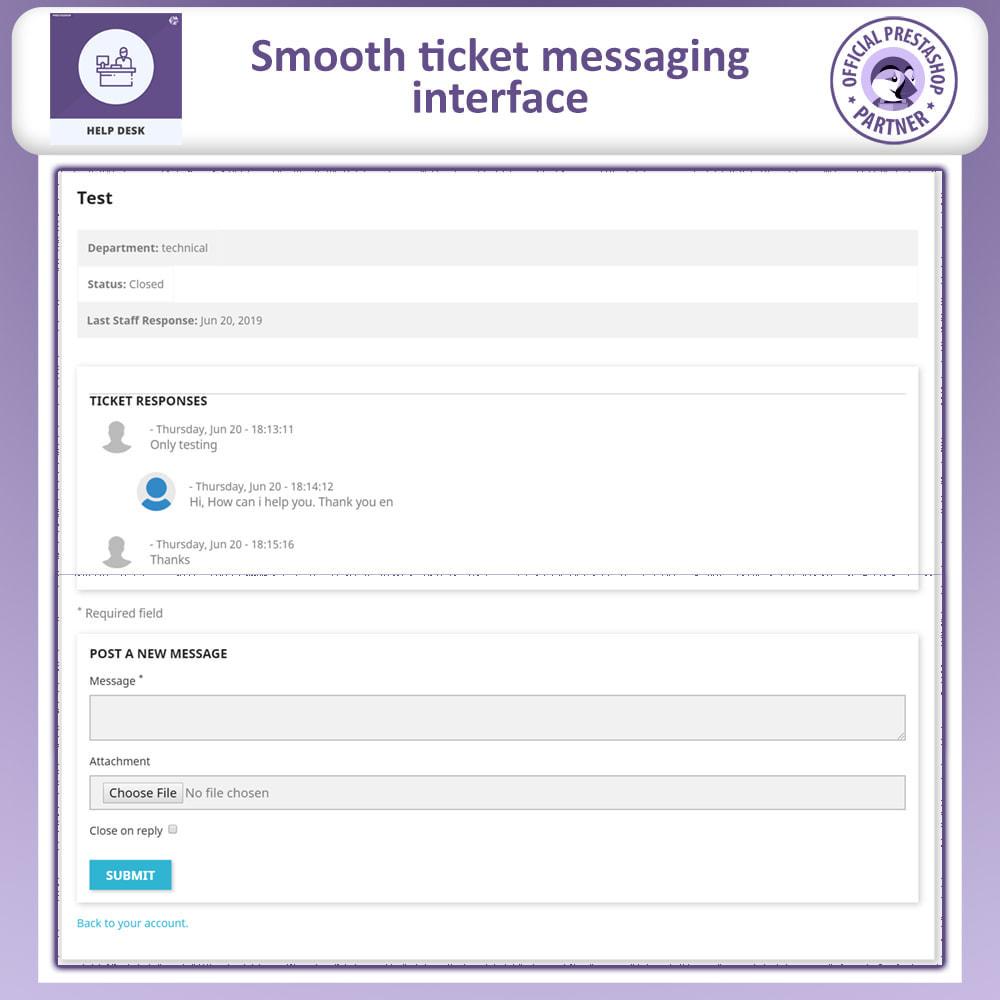 module - SAC - Help Desk - Customer Support Management System - 5