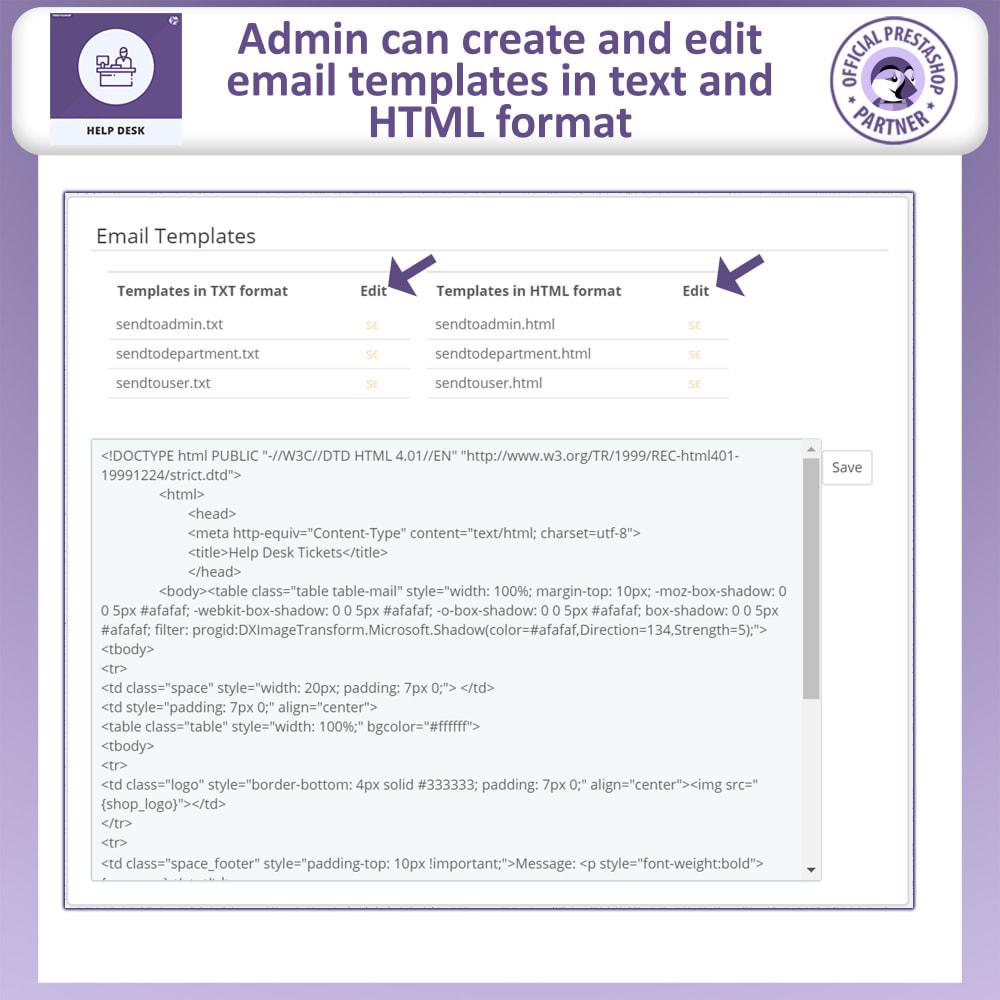 module - SAC - Help Desk - Customer Support Management System - 17