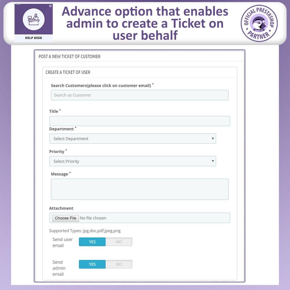 module - SAC - Help Desk - Customer Support Management System - 18