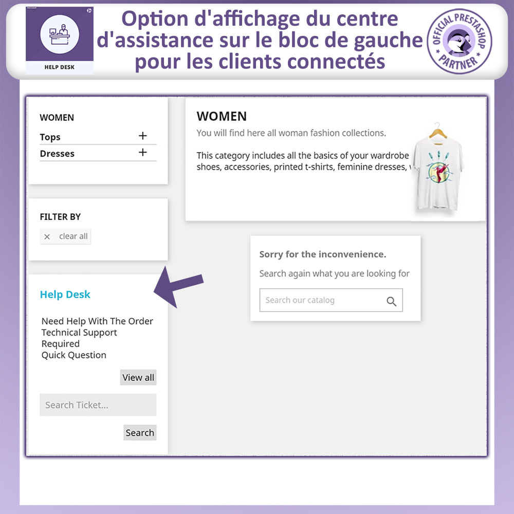 module - Service Client - Bureau d'aide - Système de Gestion du Service Clientèle - 2