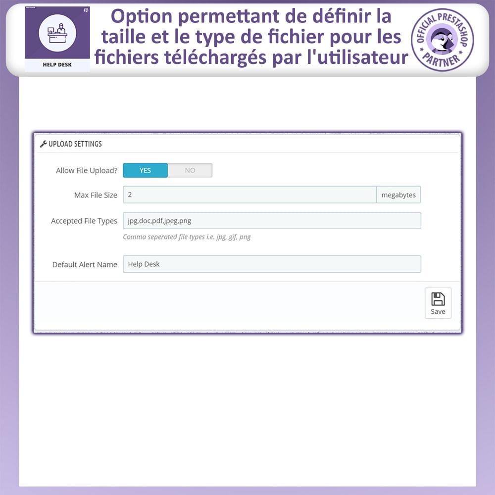 module - Service Client - Bureau d'aide - Système de Gestion du Service Clientèle - 7