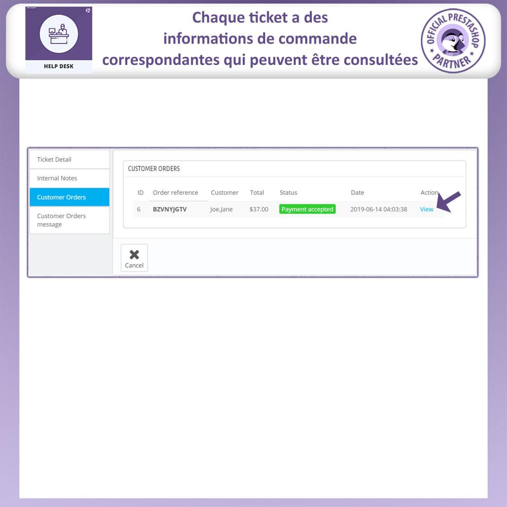 module - Service Client - Bureau d'aide - Système de Gestion du Service Clientèle - 12
