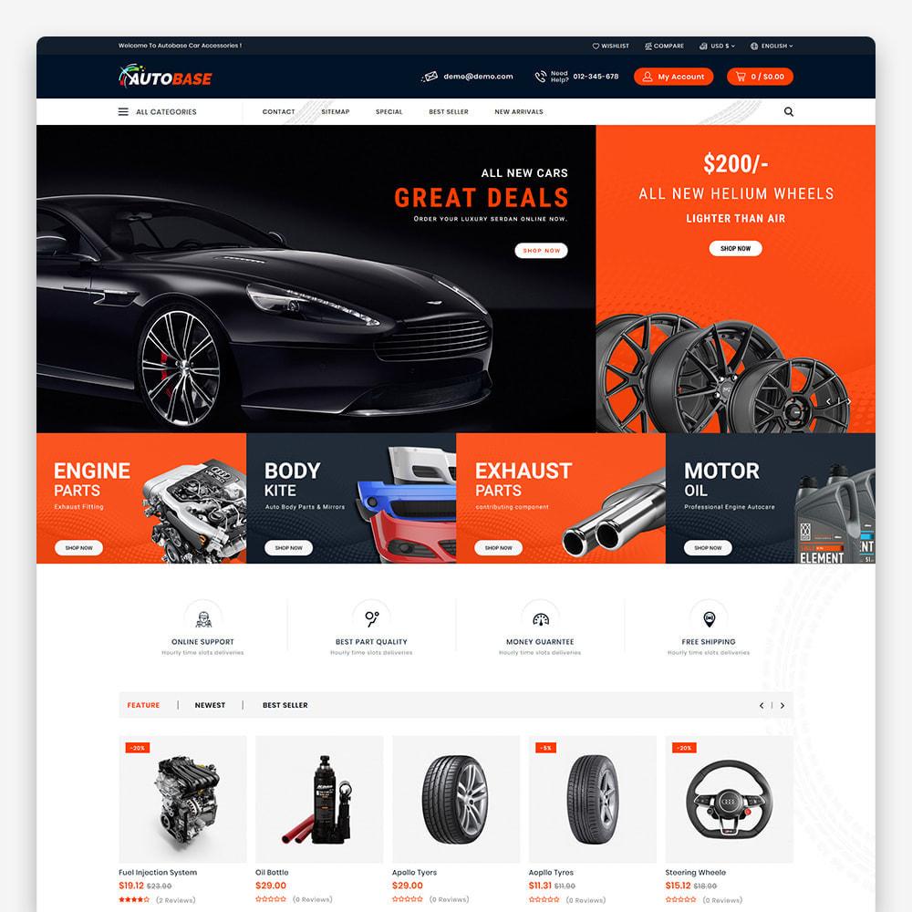 theme - Coches y Motos - Autobase - Auto Parts & Tools - 2
