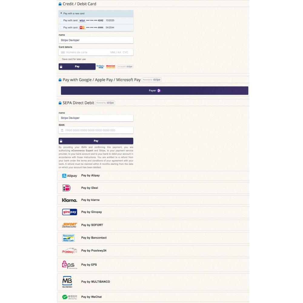 module - Pago con Tarjeta o Carteras digitales - Stripe Payment Pro (SCA-ready) - 4