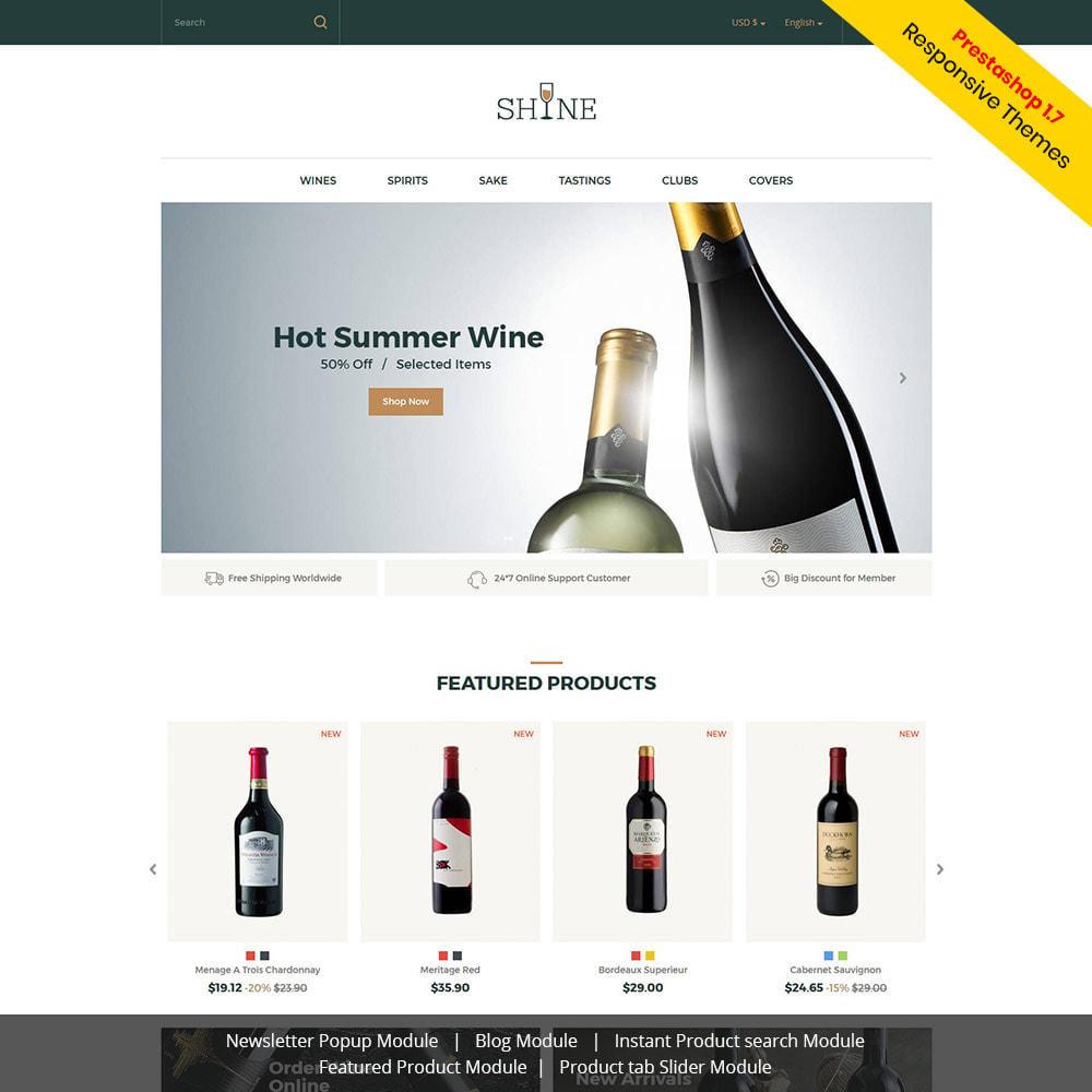 theme - Drank & Tabak - Shine Wine - Alcoholwinkel - 1
