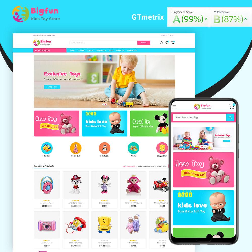 theme - Niños y Juguetes - Bigfun Kids Toy Store - 1
