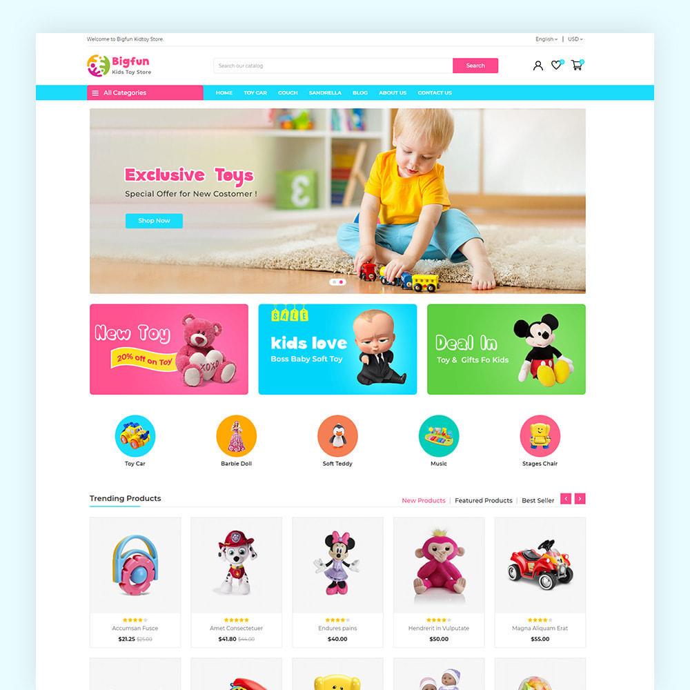 theme - Niños y Juguetes - Bigfun Kids Toy Store - 2