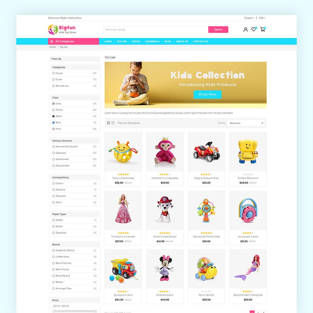 theme - Niños y Juguetes - Bigfun Kids Toy Store - 5