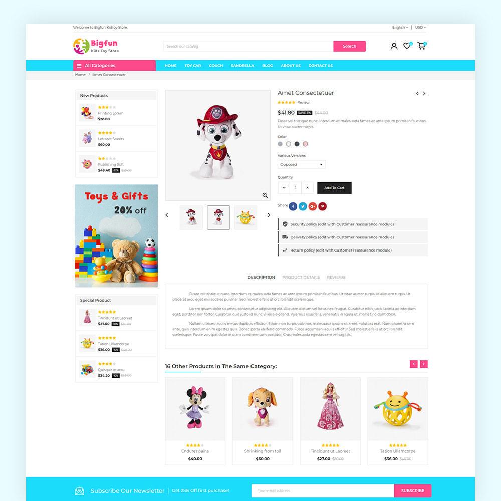 theme - Niños y Juguetes - Bigfun Kids Toy Store - 7