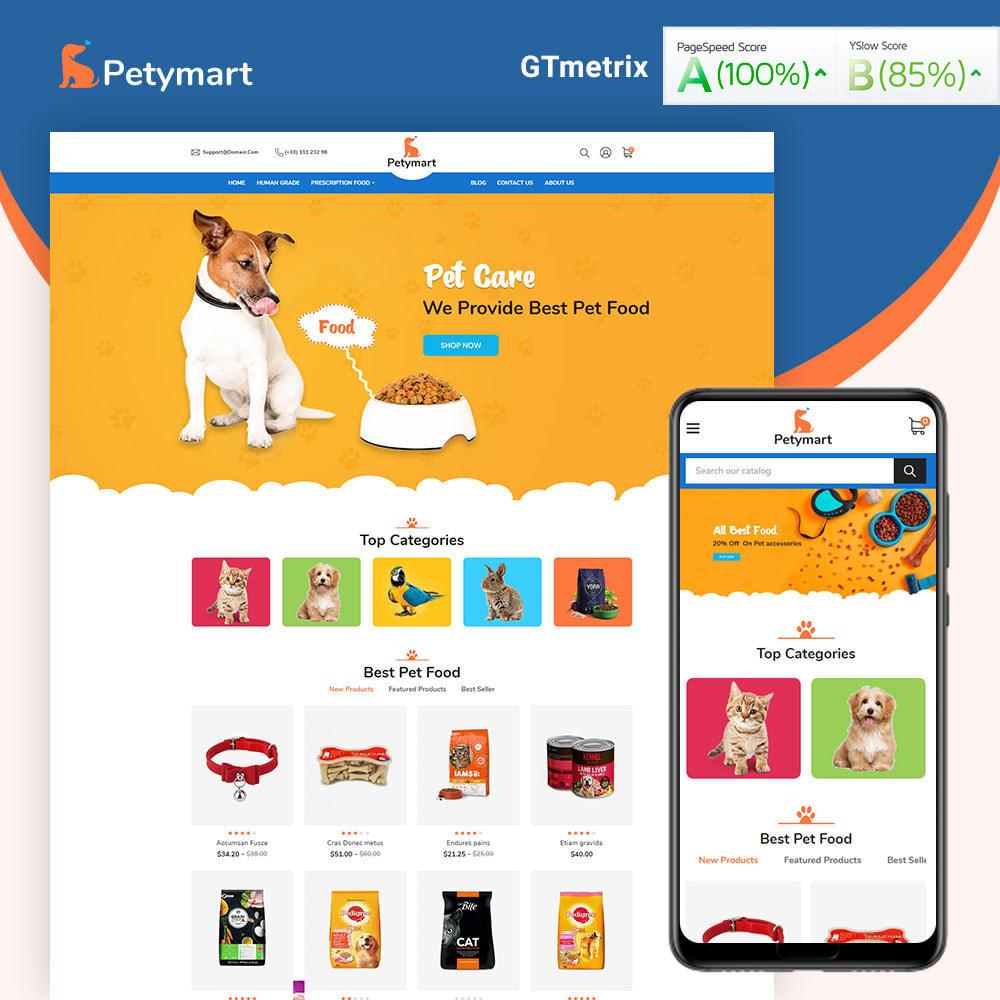 theme - Tier - Petymart Pet Store - 1