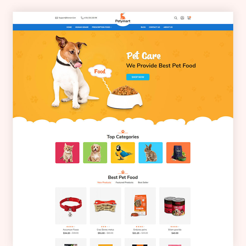 theme - Animaux - Petymart Pet Store - 3
