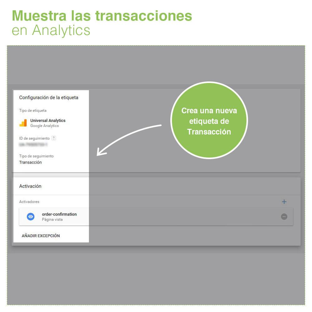 module - Informes y Estadísticas - Google Tag Manager - PRO - 6