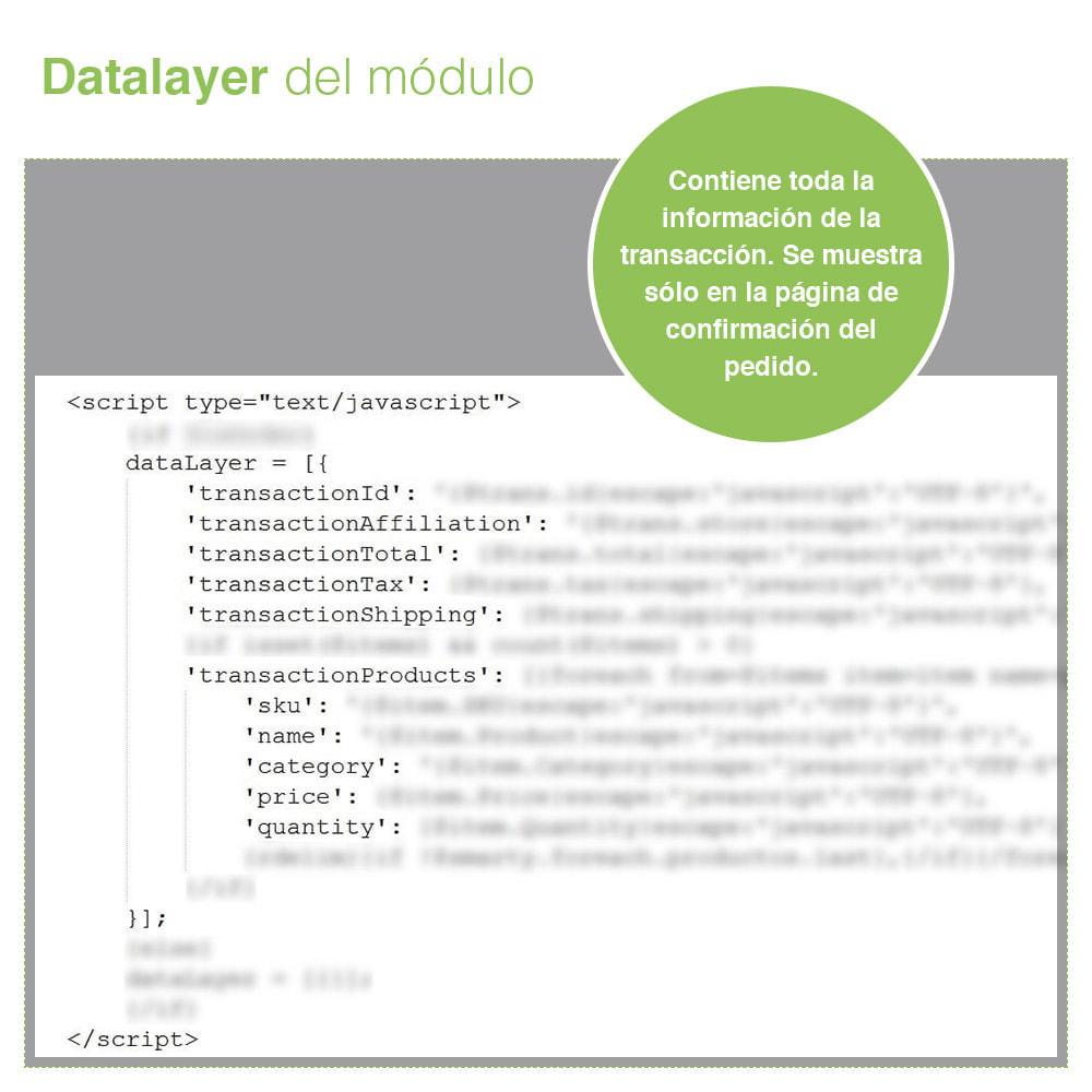 module - Informes y Estadísticas - Google Tag Manager - PRO - 7
