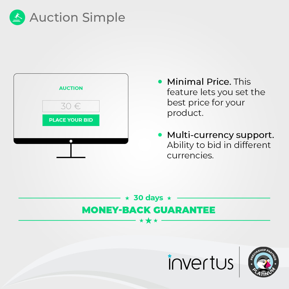 module - Zbuduj stronę aukcyjną - Auction Simple - Online Product Bid - 2