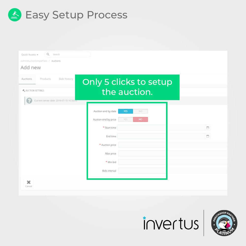 module - Zbuduj stronę aukcyjną - Auction Simple - Online Product Bid - 3