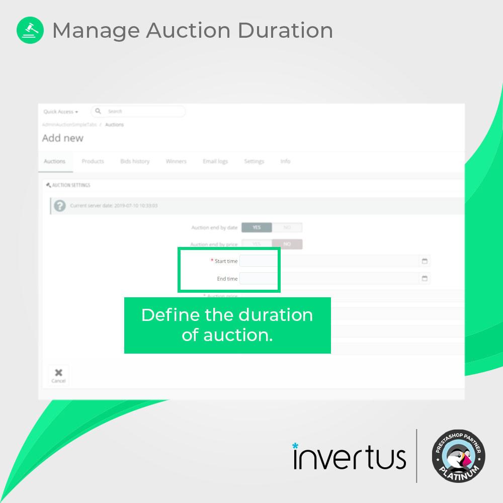 module - Zbuduj stronę aukcyjną - Auction Simple - Online Product Bid - 5