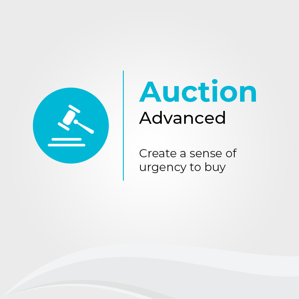 module - Создать сайт аукционов - Auction Advanced - Online Product Bid - 1