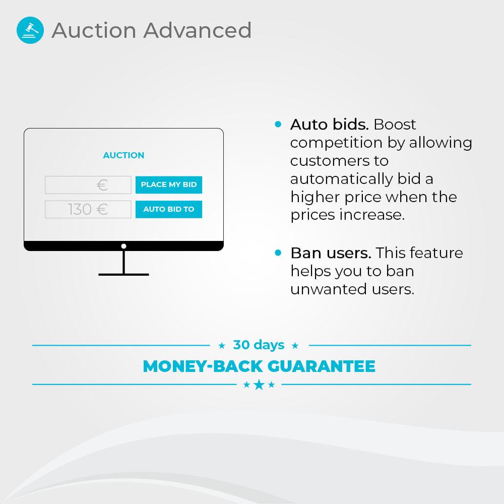module - Создать сайт аукционов - Auction Advanced - Online Product Bid - 2