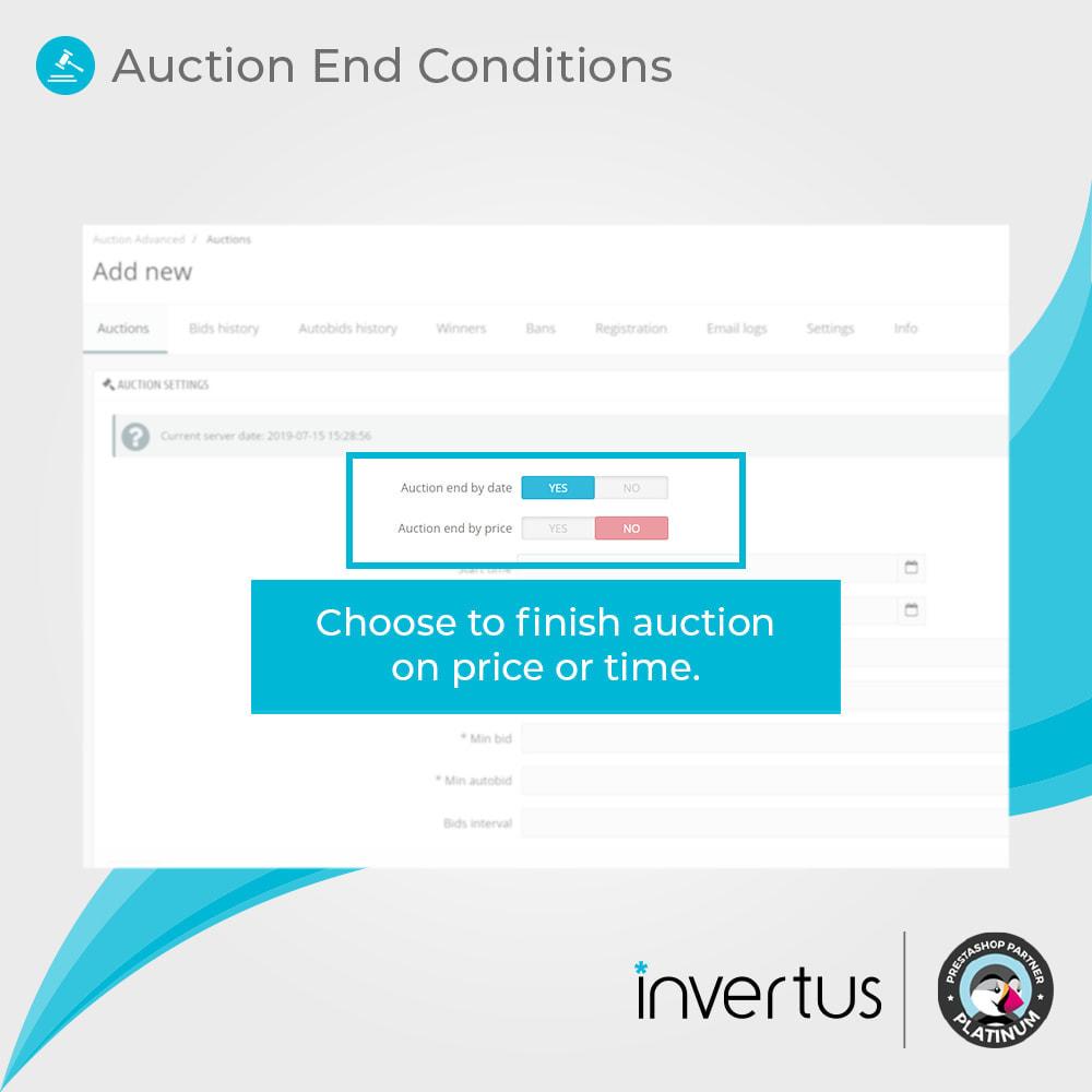 module - Создать сайт аукционов - Auction Advanced - Online Product Bid - 4