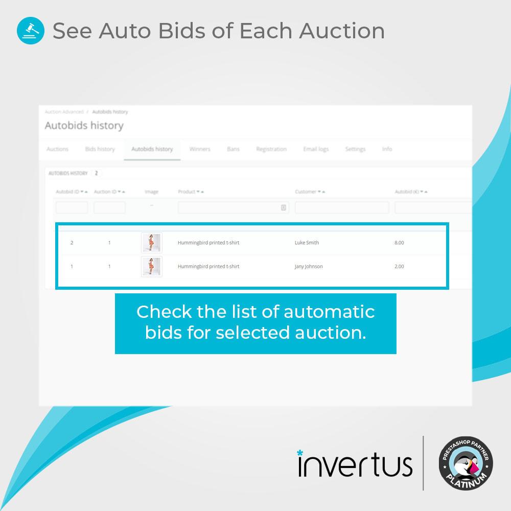 module - Создать сайт аукционов - Auction Advanced - Online Product Bid - 9