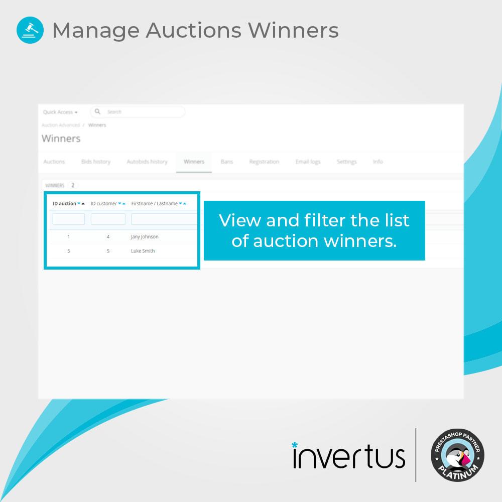 module - Создать сайт аукционов - Auction Advanced - Online Product Bid - 10