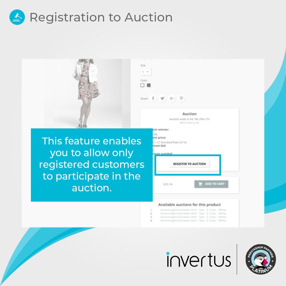 module - Создать сайт аукционов - Auction Advanced - Online Product Bid - 11
