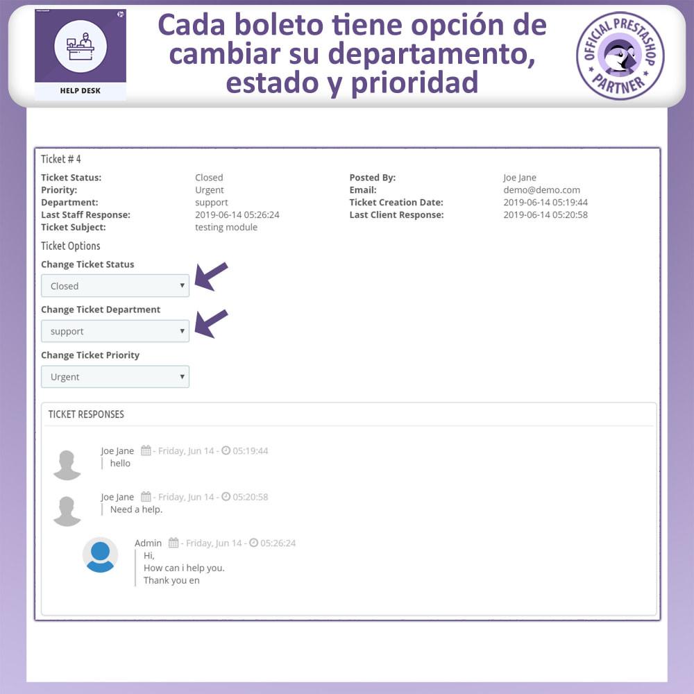 module - Servicio posventa - Mesa de ayuda - Sistema de gestión de soporte al client - 9