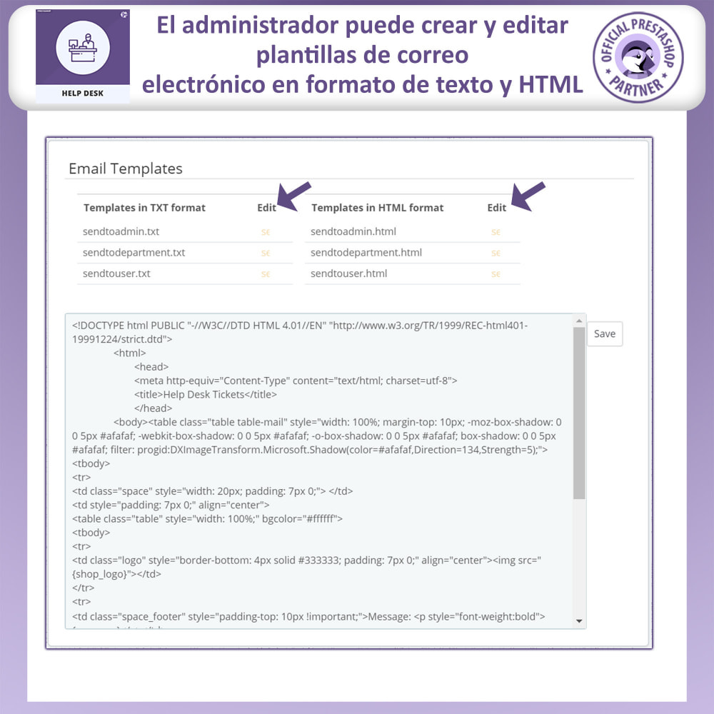 module - Servicio posventa - Mesa de ayuda - Sistema de gestión de soporte al client - 17