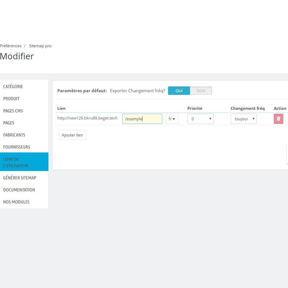 module - SEO (référencement naturel) - Sitemap xml pro - 9
