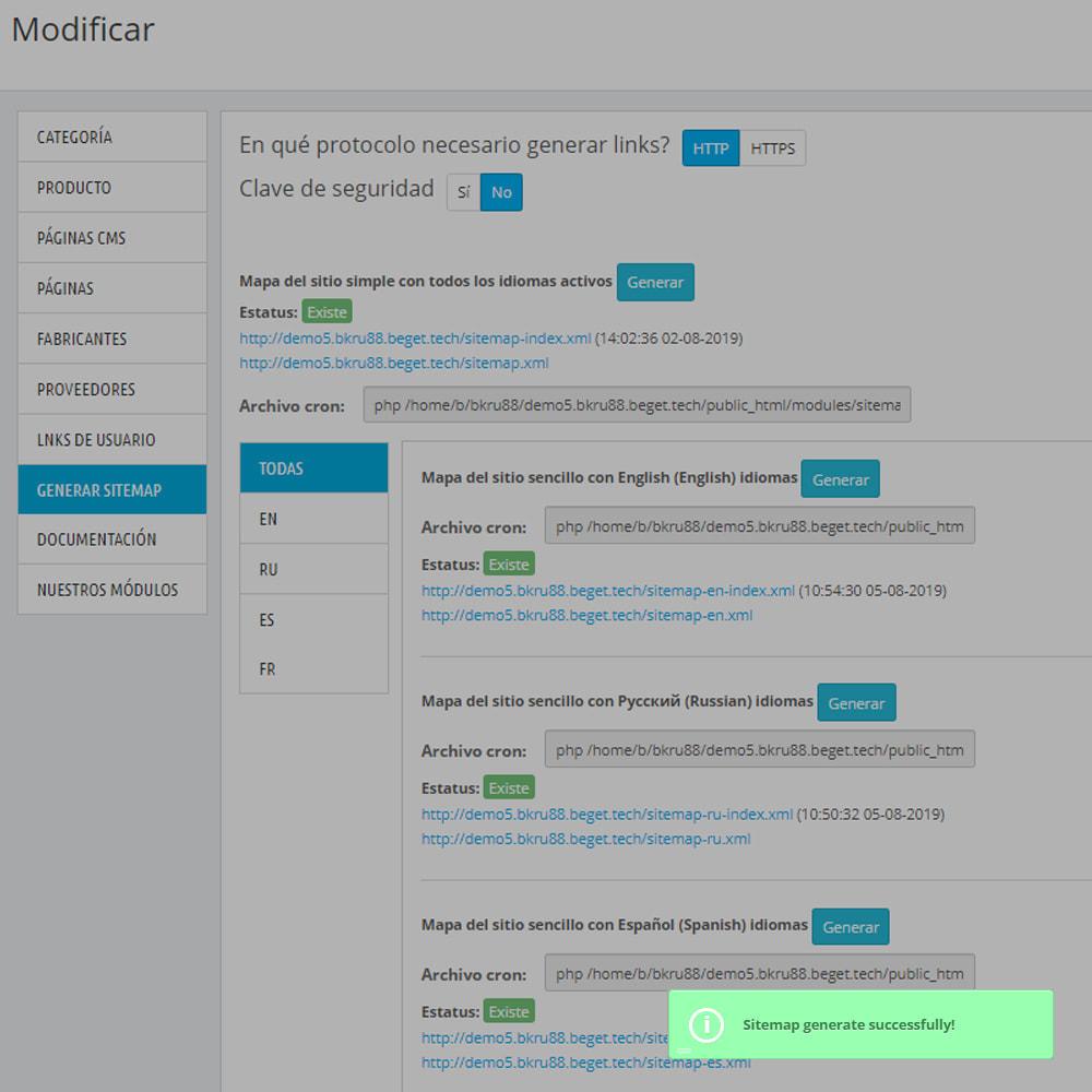 module - SEO (Posicionamiento en buscadores) - Mapa del sitio Pro xml - 12