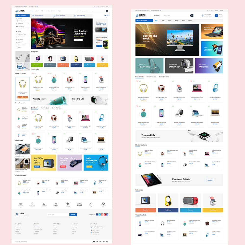 theme - Electrónica e High Tech - Kinzy - Electronics Store - 2