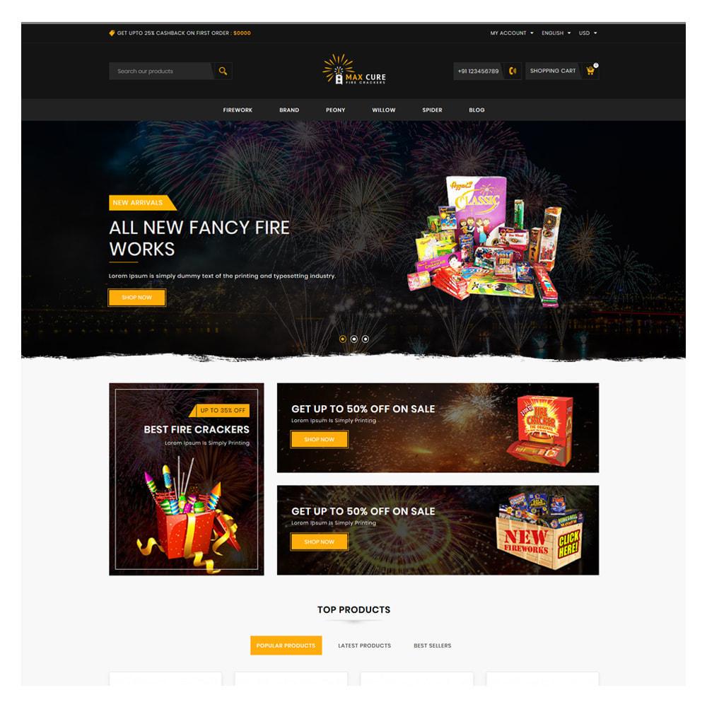 theme - Подарки, Цветы и праздничные товары - Maxcure Fireworks Store - 2