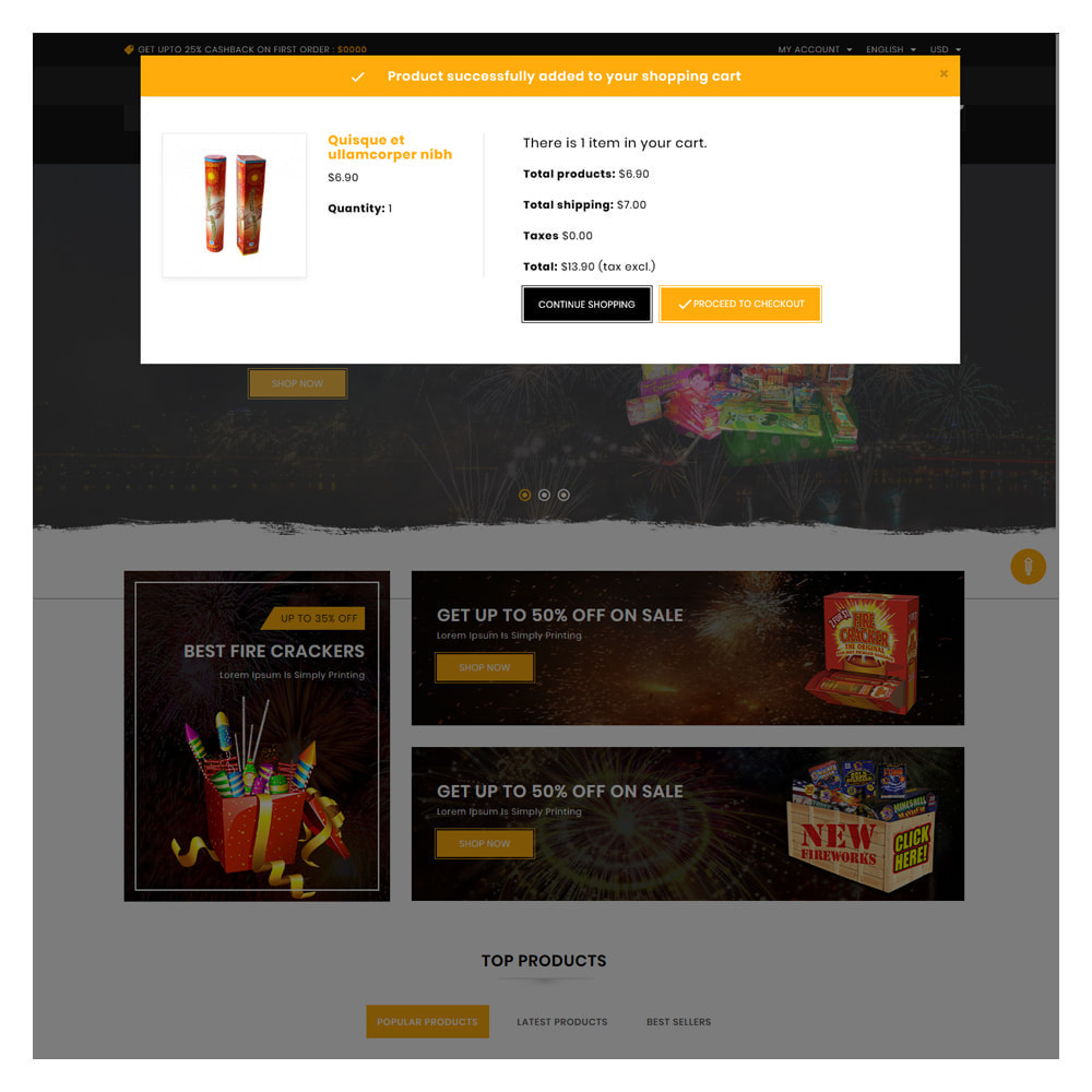 theme - Подарки, Цветы и праздничные товары - Maxcure Fireworks Store - 6