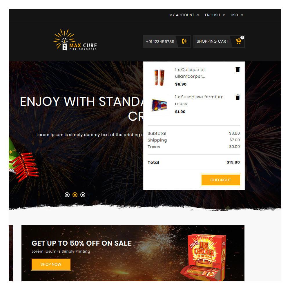 theme - Подарки, Цветы и праздничные товары - Maxcure Fireworks Store - 7