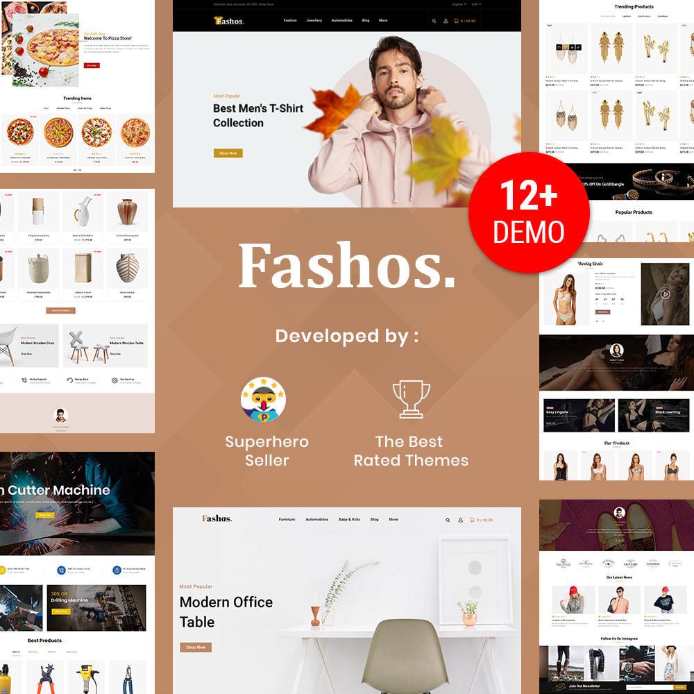 theme - Шаблоны PrestaShop - Fashos - Multipurpose Store - 1