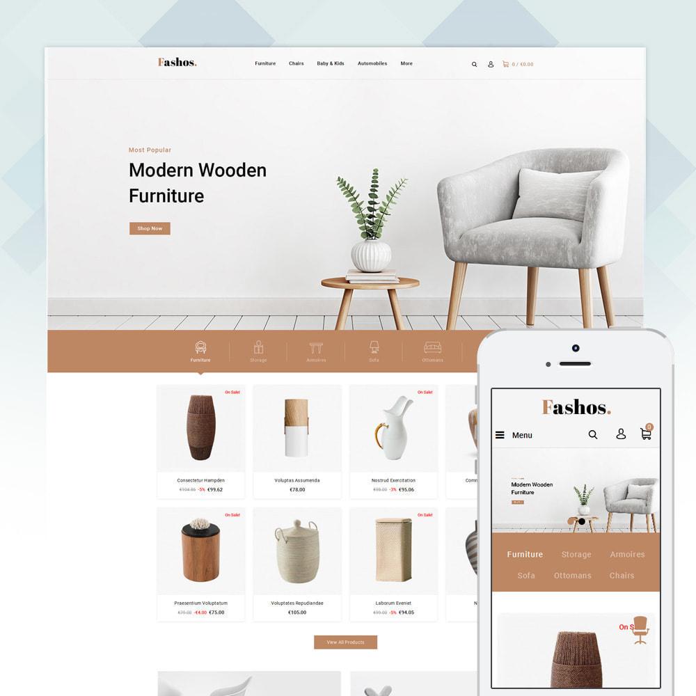 theme - Шаблоны PrestaShop - Fashos - Multipurpose Store - 4