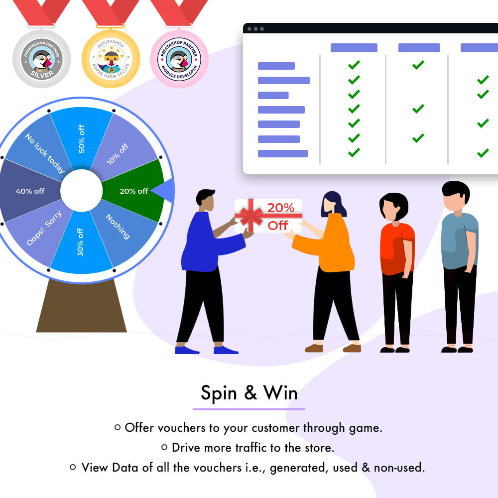 module - Promotion & Geschenke - Spin and Win - 2