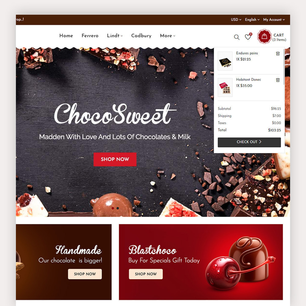 theme - Regali, Fiori & Feste - Chocozo Chocolates Store - 4