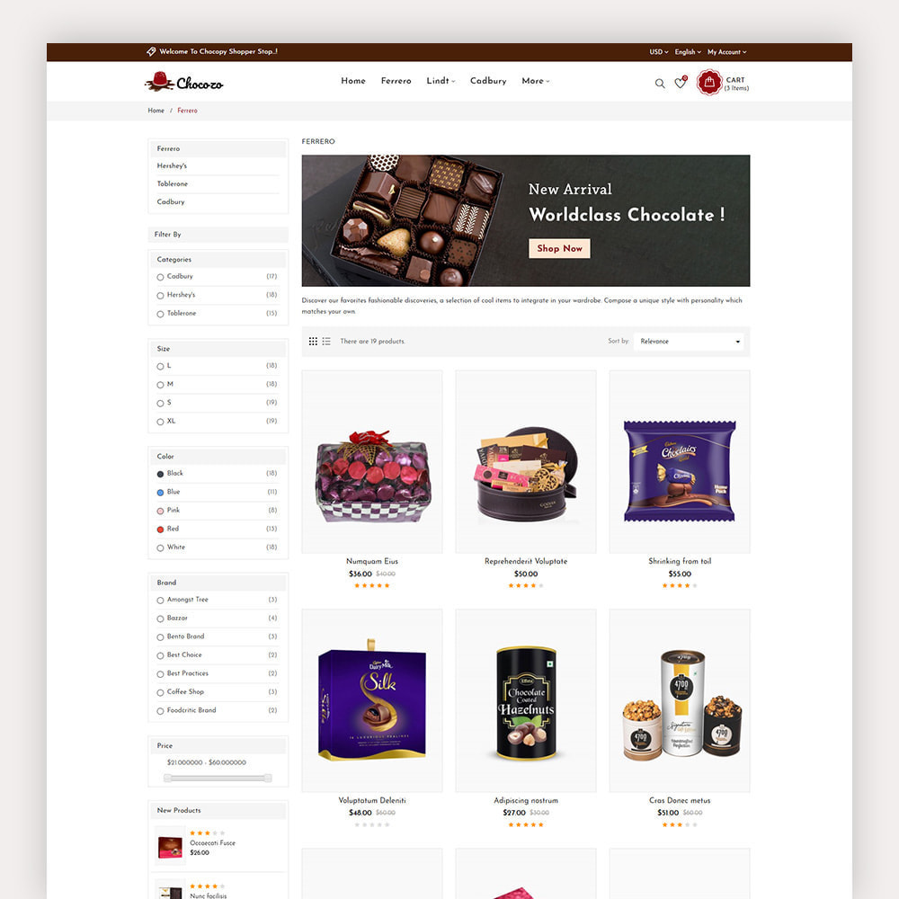 theme - Regali, Fiori & Feste - Chocozo Chocolates Store - 5