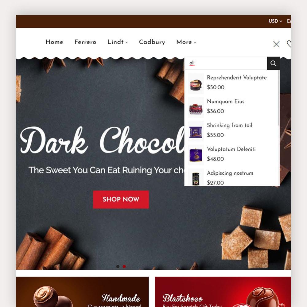 theme - Cadeaux, Fleurs et Fêtes - Chocozo Chocolates Store - 4