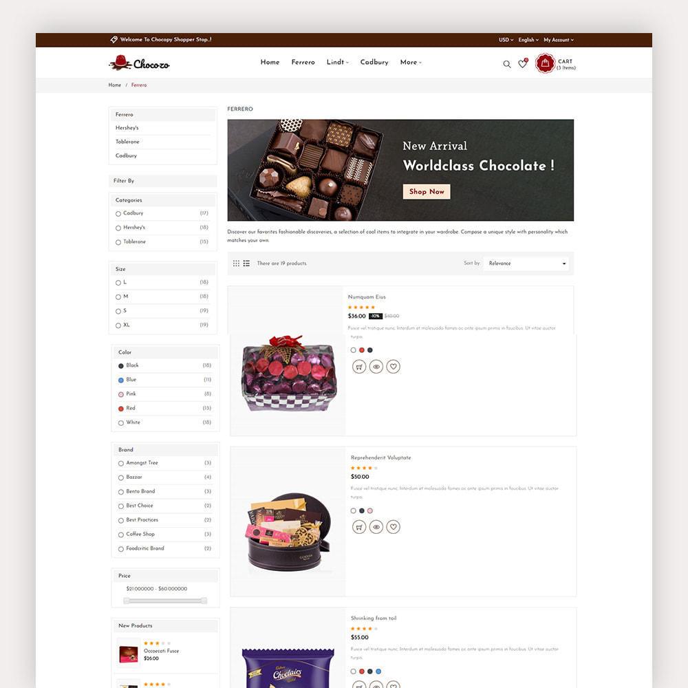 theme - Cadeaux, Fleurs et Fêtes - Chocozo Chocolates Store - 7