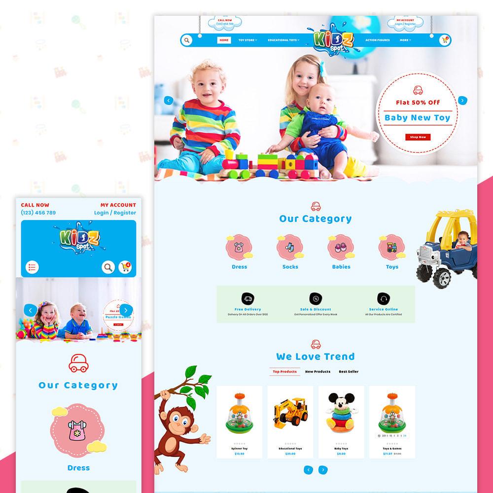 theme - Enfants & Jouets - Kidz Baby–Toys Children–Kids Store - 1