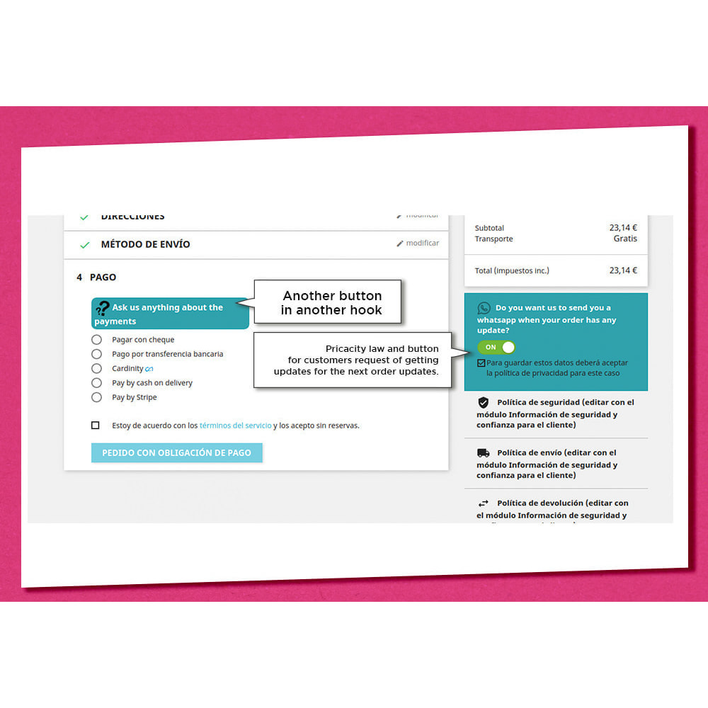 module - Ondersteuning & Online chat - Whatsappconnect - 11