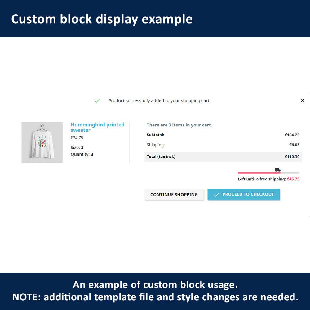 module - Verzendkosten - Free Shipping Amount Display - 6