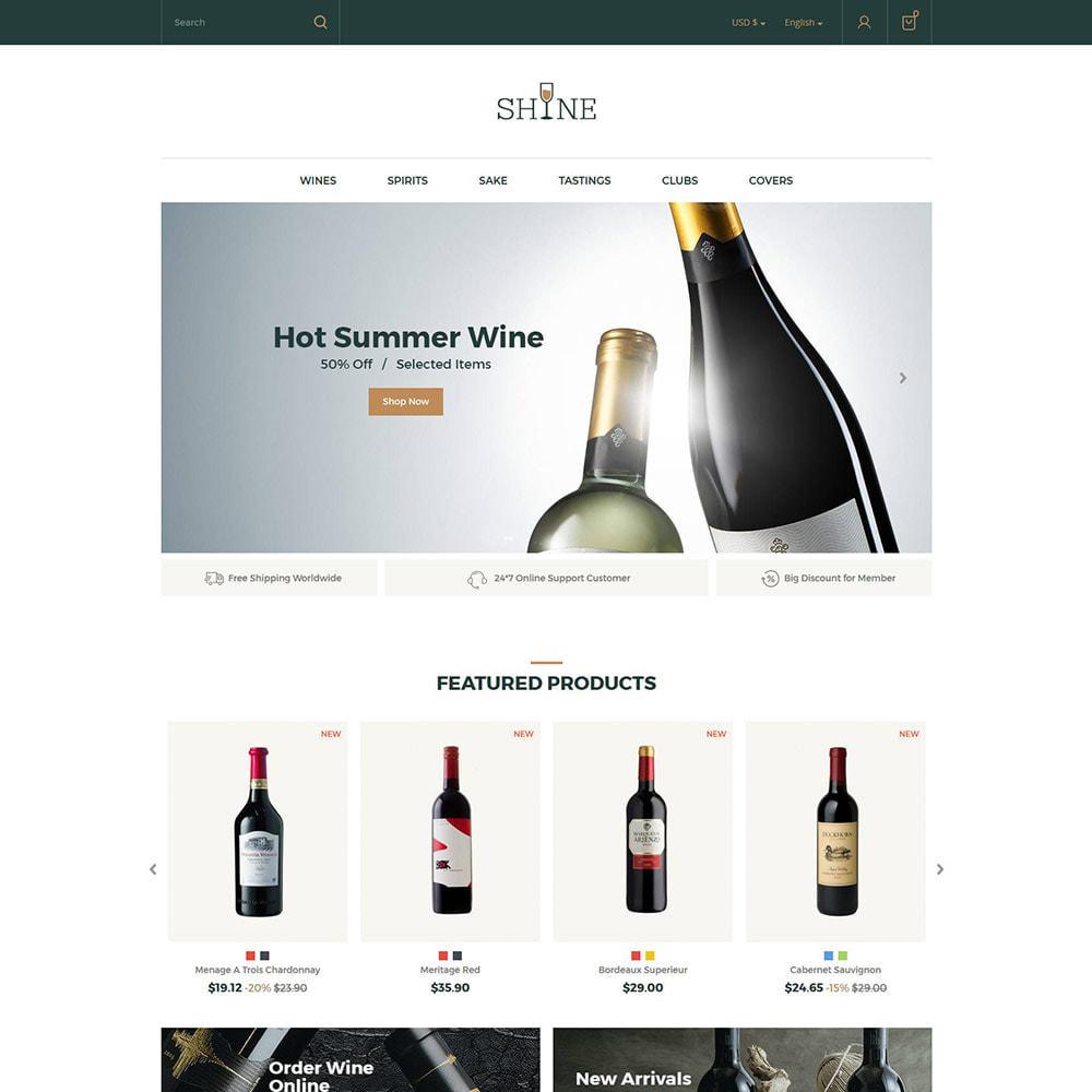 theme - Drank & Tabak - Shine Wine - Alcoholwinkel - 2