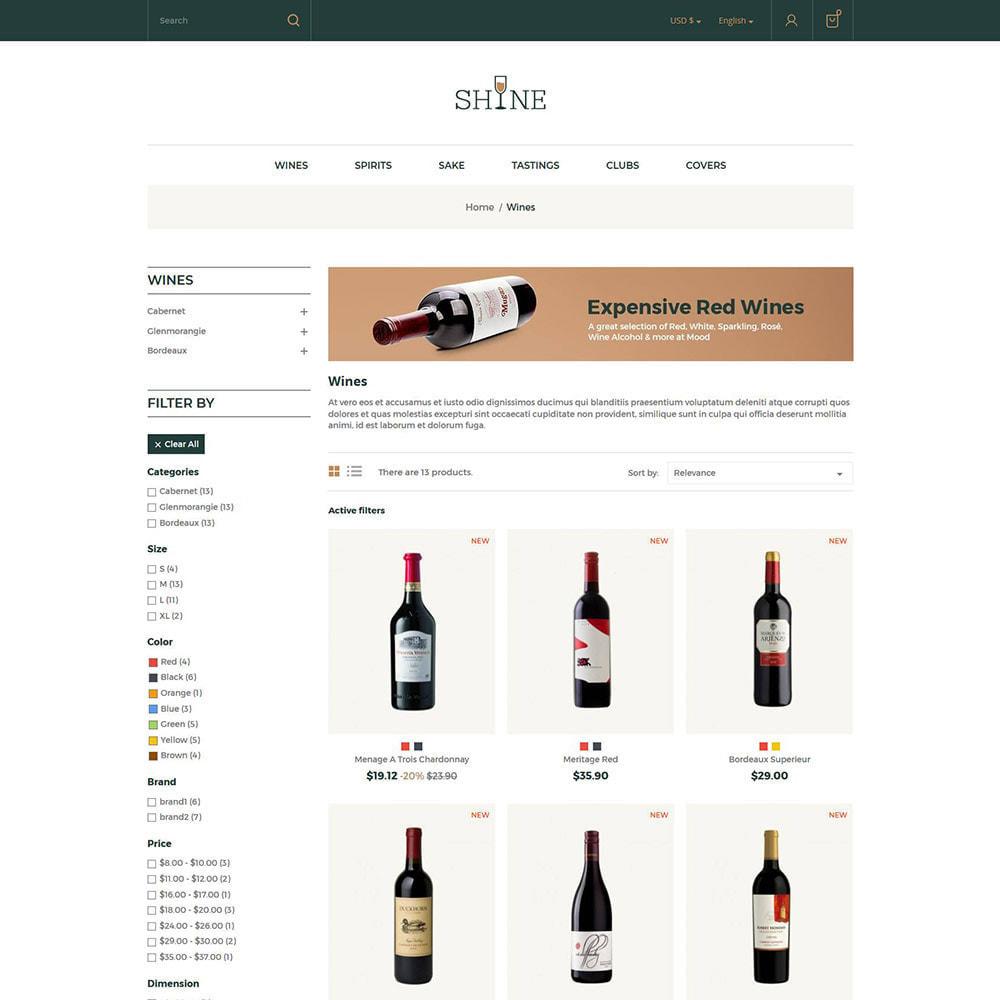 theme - Drank & Tabak - Shine Wine - Alcoholwinkel - 3