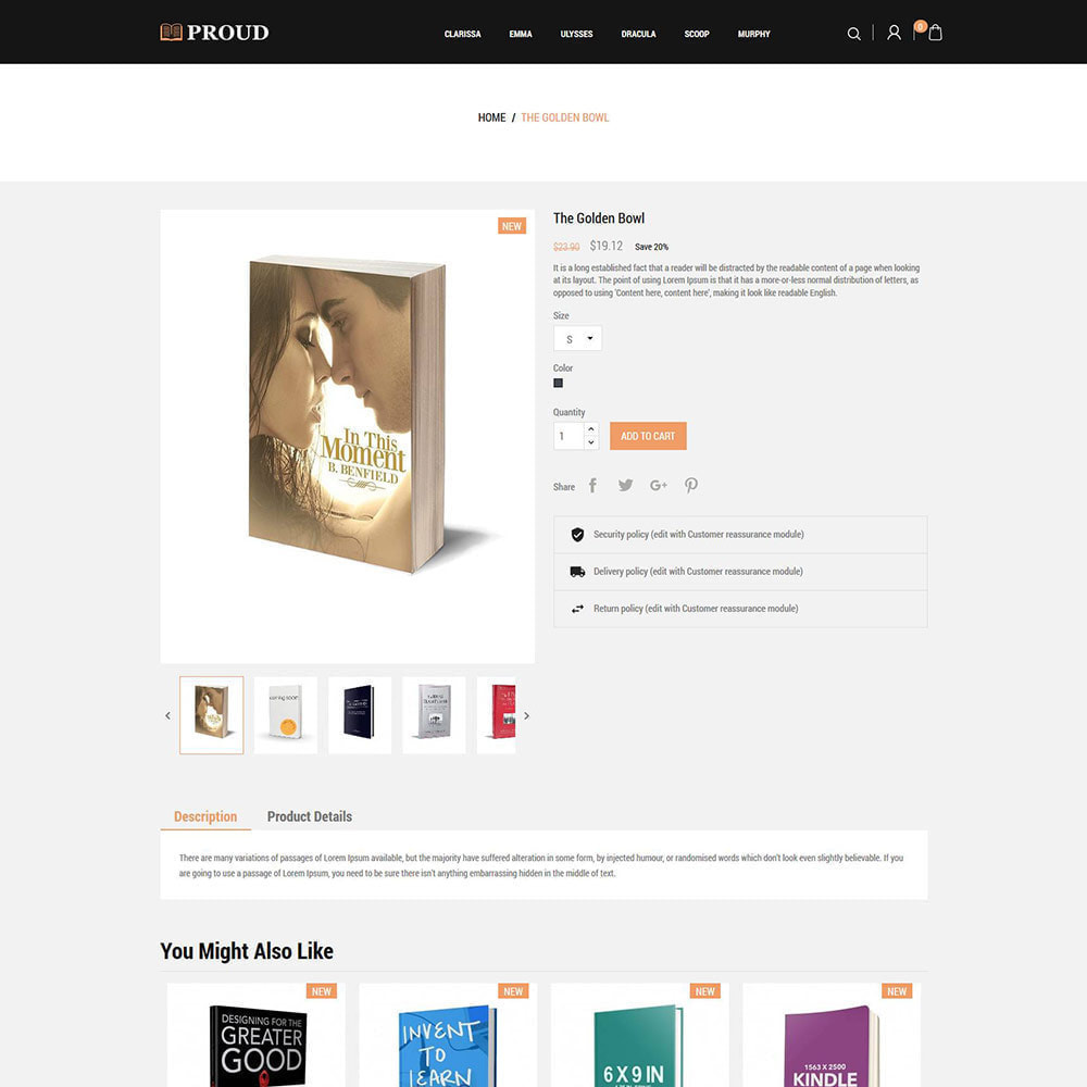 theme - Kunst & Cultuur - ProudBook - Ebook - Stripwinkel - 6